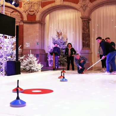 Piste de curling - Indoor