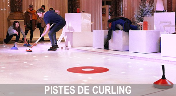 location de piste de curling synthétique